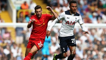 English Premier League Week 3: Tottenham 1-1 Liverpool